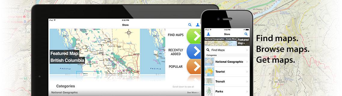 Avenza Mapsのダウンロード